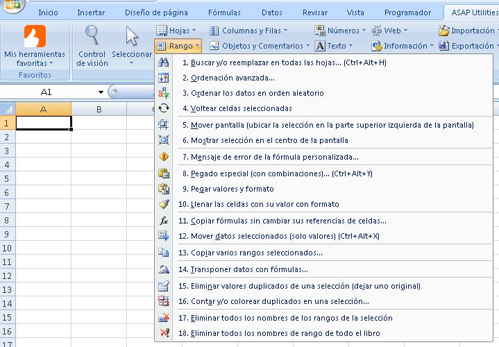 Asap utilities traducido al español