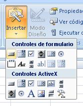 insertar botón en la hoja de cálculo para ejecutar una macro