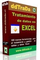 ddTraDa Tratamiento de datos con Excel