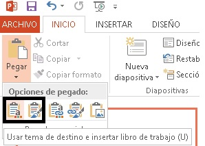 powerpoint grafico excel
