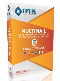 Optipe MultiMail. Combinar correspondencia desde Excel