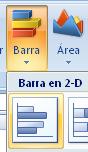 gráfico de barras en Excel