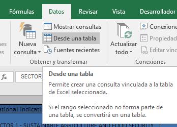 Power Query en Excel, Obtener y transformar datos