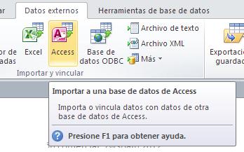 vincular tablas en access